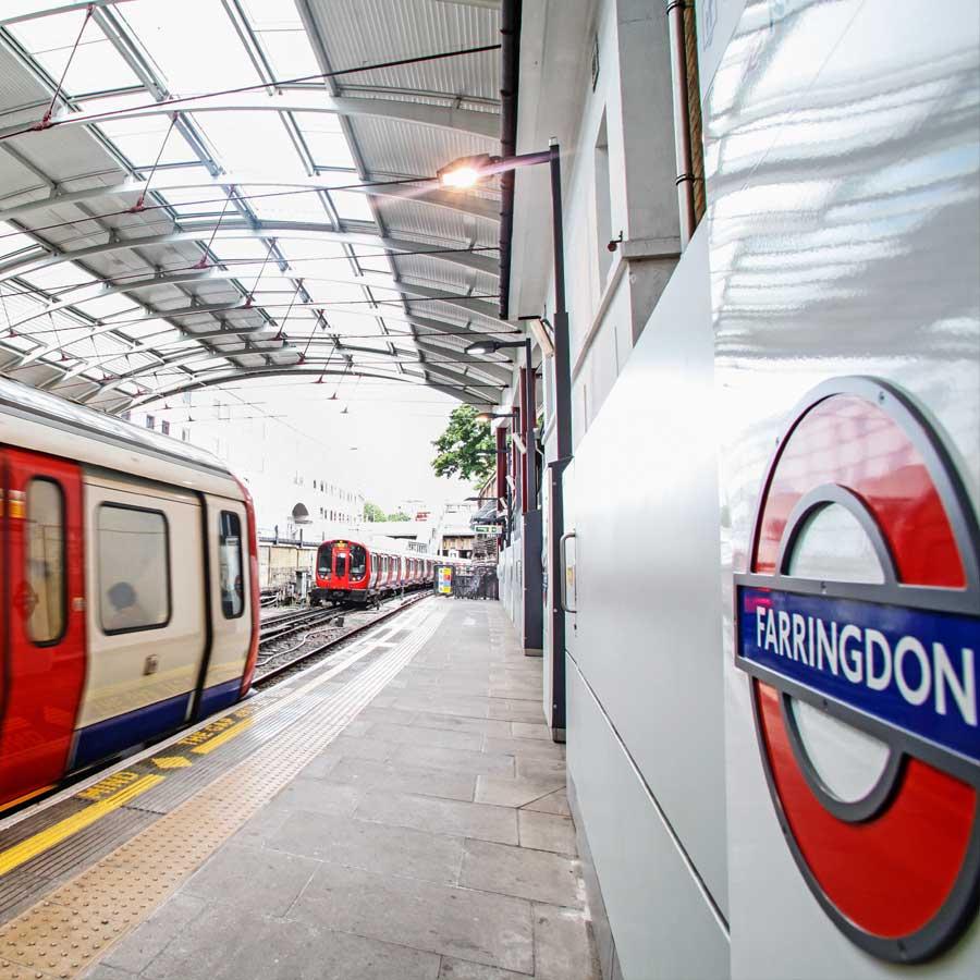 Awards 2014 Farringdon Station
