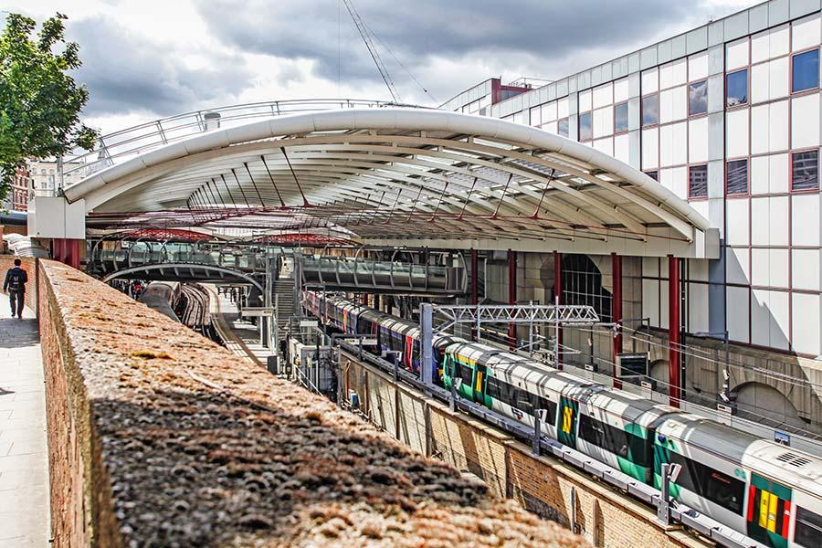 Farringdon Train Shed Roof