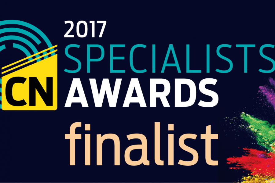 08-Nov-2016: Bourne Construction Engineering is shortlisted for the Construction News Specialists Awards 2017
