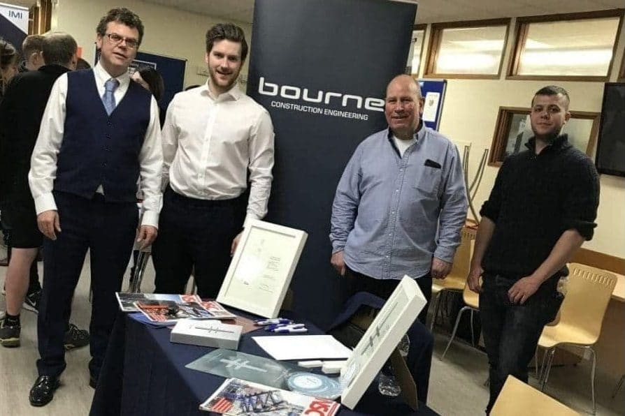 09-March-2018: Bourne attends local careers fairs