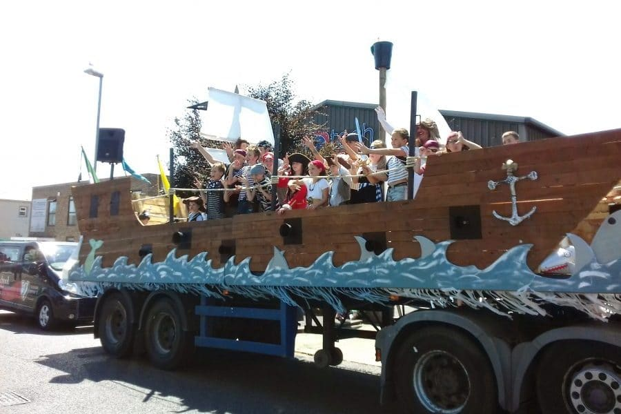 23-July-2018: Bourne trailer wins 'Best Float' at Wareham Carnival