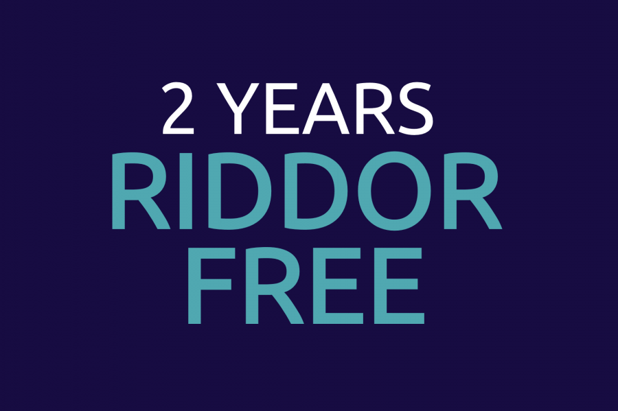 11-Jan-2019: Bourne Group hits 2 years RIDDOR free