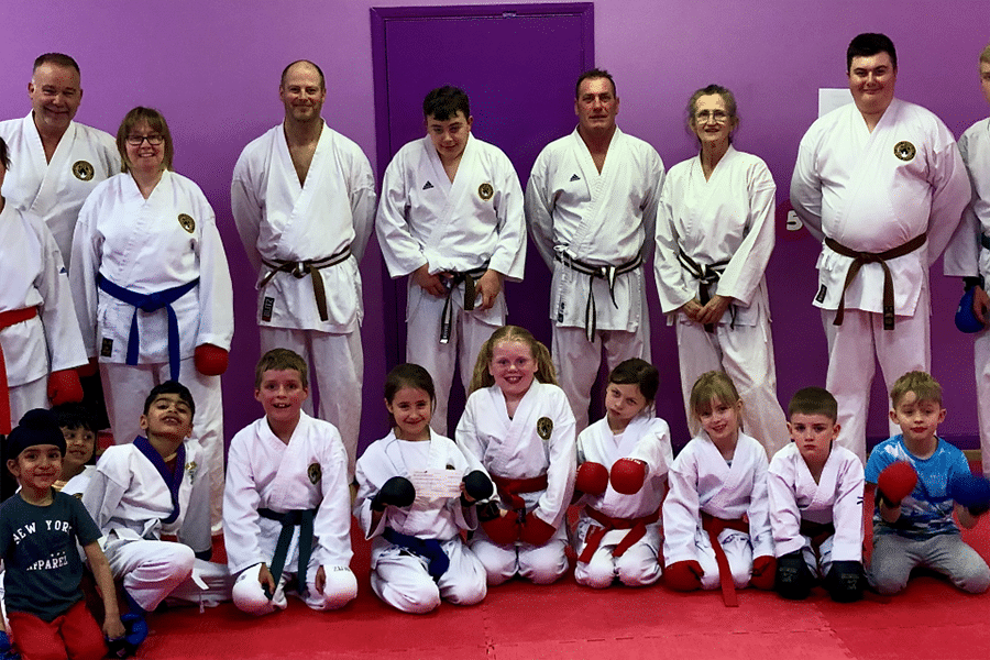 23-Apr-2019: Bourne donates to South Derbyshire Karate Academy