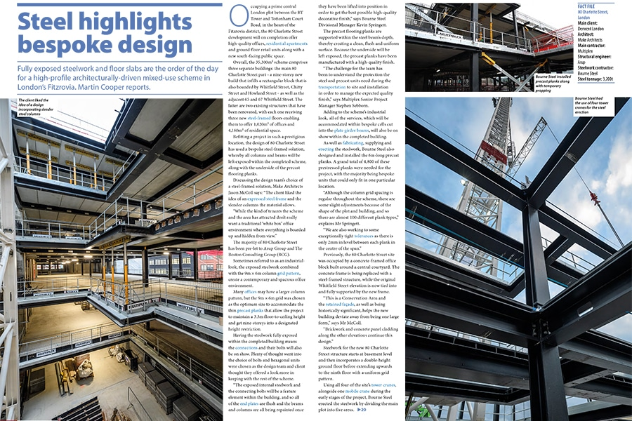 14- May-2019: In the press - NSC 'Steel highlights bespoke design'