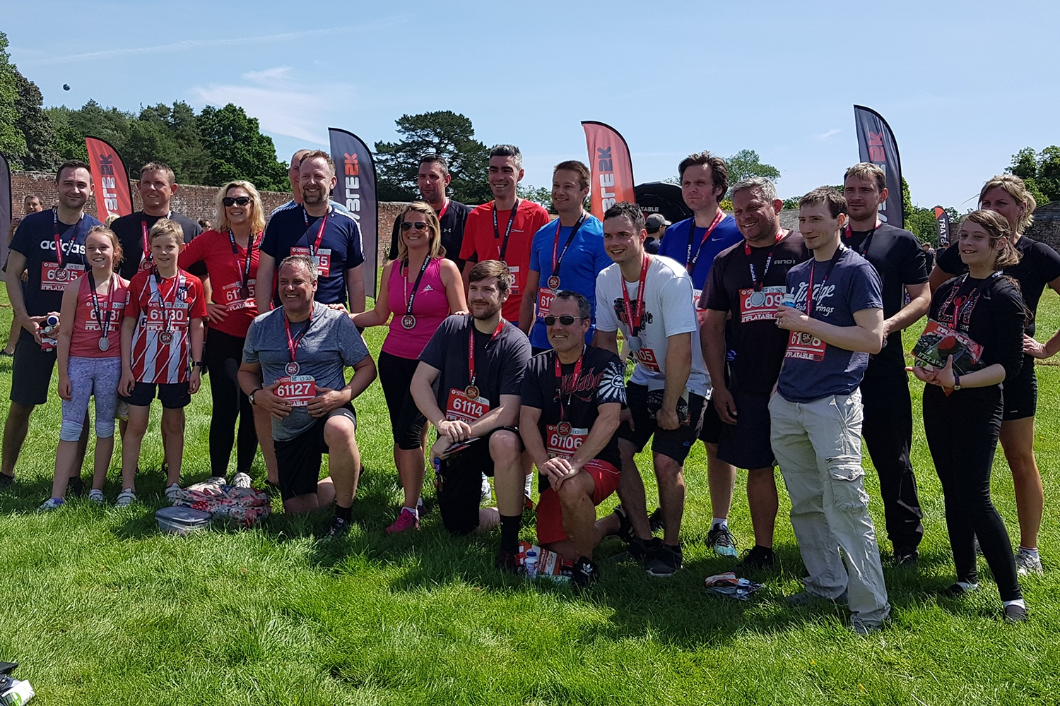 02-June 2019: Bourne take part in the Inflatable 5K