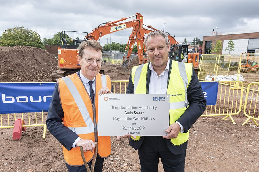 31-July-2019: Mayor of the West Midlands visits Longbridge Park and Ride