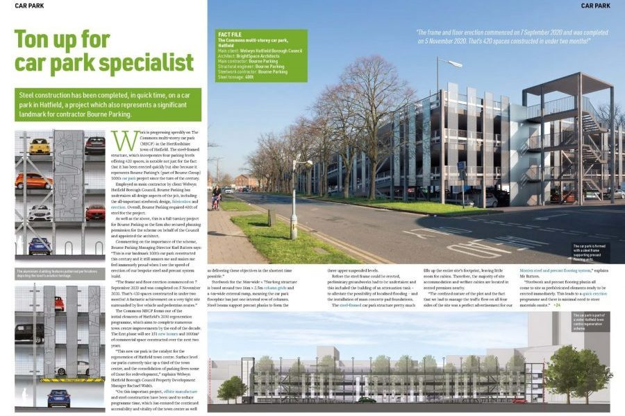 07-April-2021: In the press - NSC 'Ton up for car park specialist'
