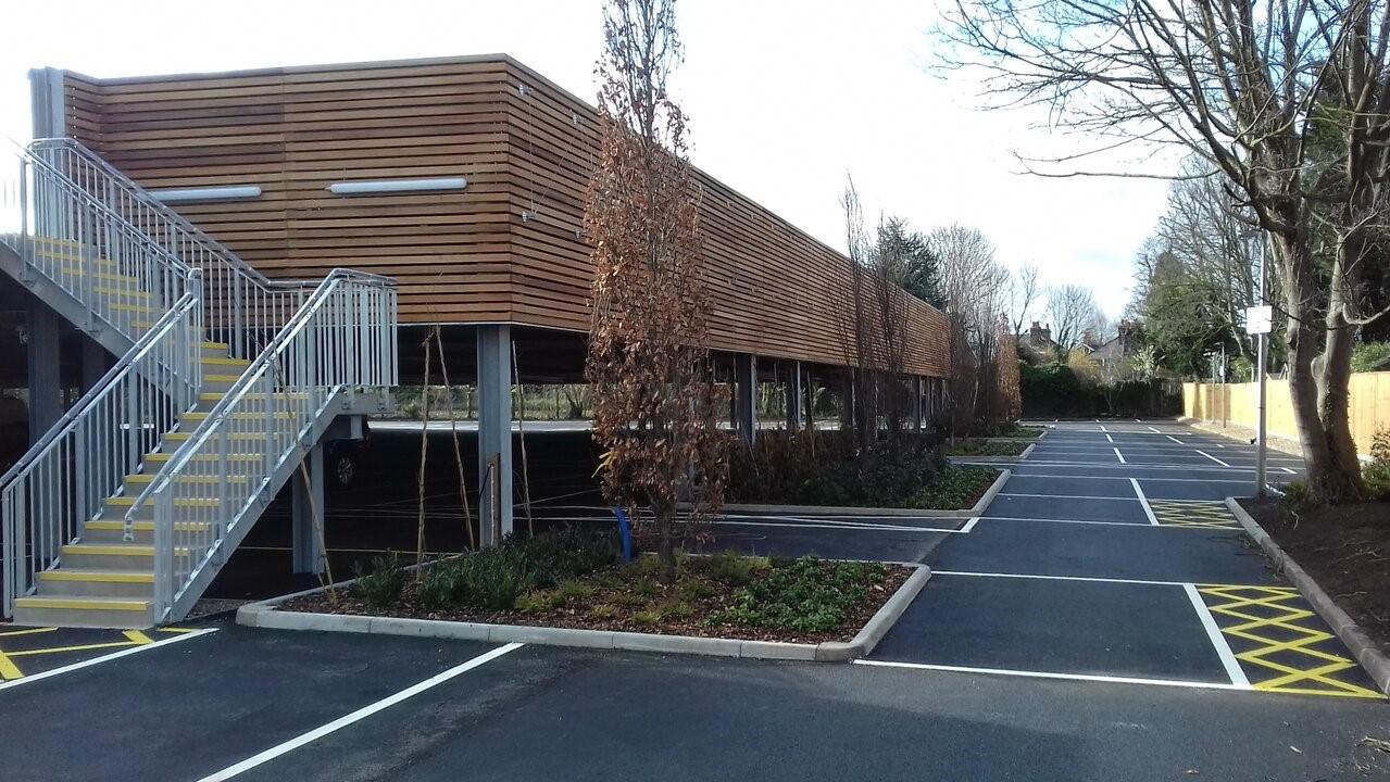 British Gas multi storey car park built by Bourne Parking